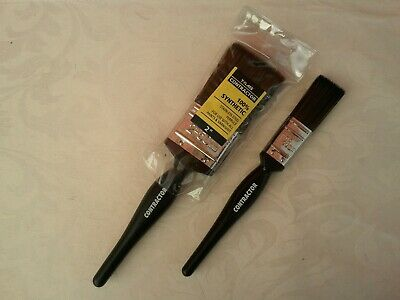 £5.99 • Buy T-class Contractor Brushes Set Of 2  2  1  Free P&p