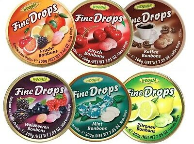 """Travel Sweets 200g Woogie Tin  PICK AND MIX ANY 3 Flavours"""" From 9 Flavours. • 7.89£"""