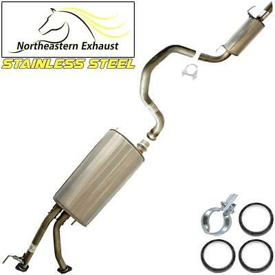 $333.36 • Buy Stainless Steel Exhaust System Kit Fits: 2001-2007 Toyota Sequoia 4.7L