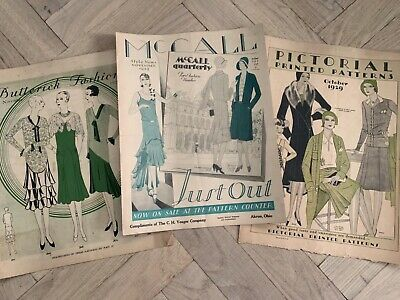$59.95 • Buy 1929 Fashion Large Format Pattern Catalogs McCalls, Butterick, Pictorial Pattern