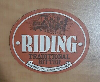 £2.35 • Buy Vintage Riding Traditional Bitter The Mansfield Brewery Co.Beer Coaster Beer Mat