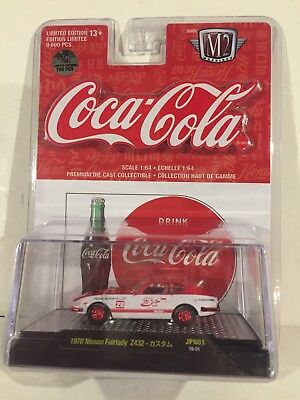$ CDN35 • Buy M2 Machines Nissan Fairlady Z432 Coca Cola Coke Limited Edition Red Chase 750