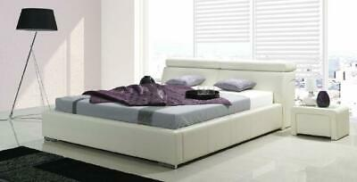 Double Bed Bed Beds Upholstered Bed Double Bed Double Beds Bedstead Leather Bed • 773.52£