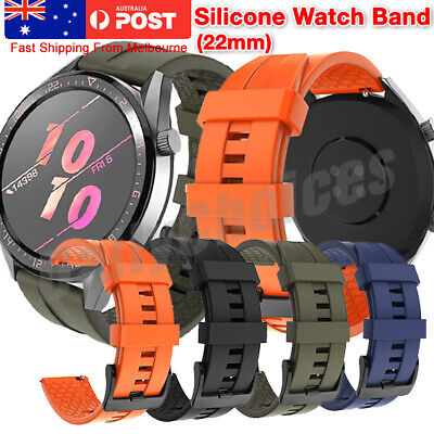 AU9.95 • Buy Sport Rubber Silicone Watch Band Strap For Samsung Gear S3 Frontier Classic 22mm