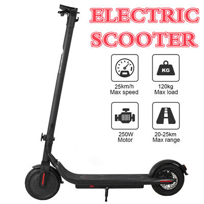 AU413.39 • Buy Electric Folding Scooter 250W 36V Fast Charge Ultra-Lightweight Easy Carry