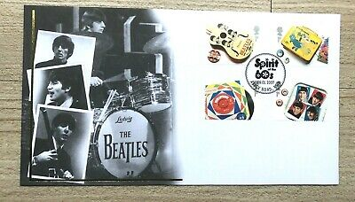 2007 The Beatles - With The Spirit Of The 60's Abbey Road Postmark. • 20£