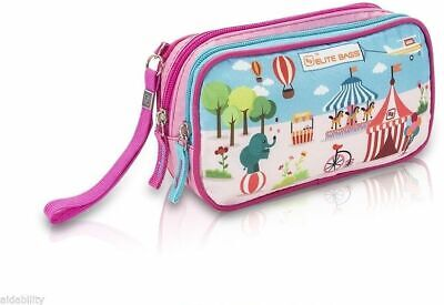Elite Isothermal Cool Bag / Kitbag For Insulin & Diabetic Supplies Circus Design • 14.44£