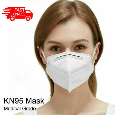 AU21.95 • Buy 5Pcs/Pack KN95 Face Mask Disposable Activated Carbon Mouth Mask Unisex