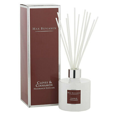 AU39.95 • Buy Max Benjamin Ceramic Fragrance Diffuser W/150ml Oil & Reed Cloves & Cinnamon