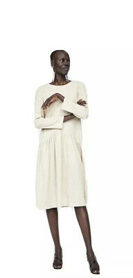 £25 • Buy Zara Suede Effect Dress (Beige) M/UK 12 Perfect For Maternity Wear New With Tags