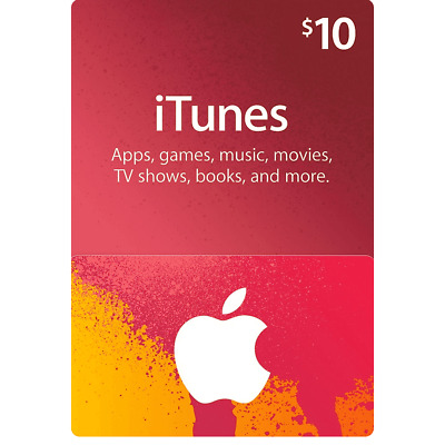 AU19.18 • Buy Apple ITunes Gift Card $10 USD - 10 Dollar United States Gift Card Voucher Fast