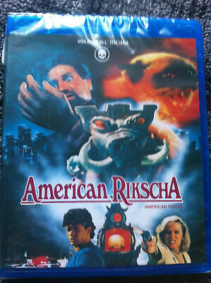AMERICAN RICKSHAW - Blu-ray Region ALL - Sergio Martino - Donald Pleasence - Ltd • 26.88£
