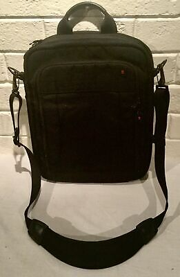 Victorinox Swiss Army Black Med Briefcase Laptop Sleeve And Strap Used VGC • 25£