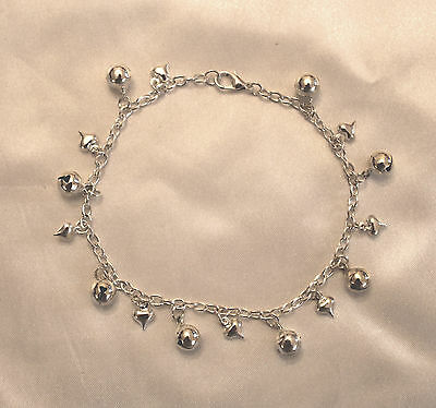50 'Fifty Shades Freed' Inspired Ana's Bell & Heart Anklet Ankle Bracelet Gift • 4.50£