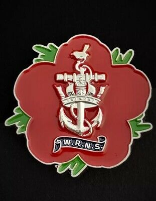 Woman's Royal Navy Service ( 46-WRNS ) 🌺 Flower Of Remembrance 3D • 8.95£