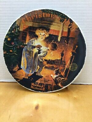 $ CDN11.99 • Buy Norman Rockwell Christmas Plates 1979 By Edwin M. Knowles NICE COLLECTIBLE!!!!!