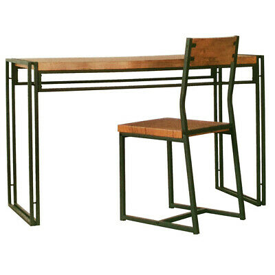 AU195 • Buy Open Desk Office Writing Table And Chair Set Home Furniture 1200 X 500 X 755mm I