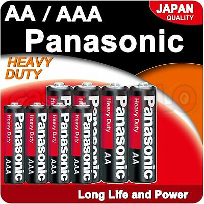 AU14.95 • Buy Panasonic AA AAA 9V C D 1-20 Battery 1.5V Heavy Duty Batteries Longest