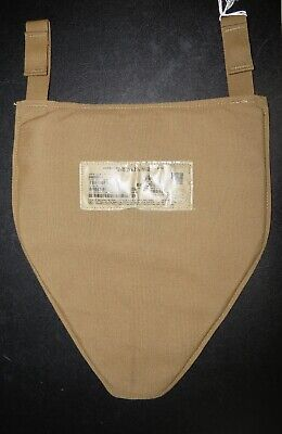 $80 • Buy USMC IMTV Groin Protector Coyote NSN 8470-01-586-8735 Plate Carrier PC L - XL