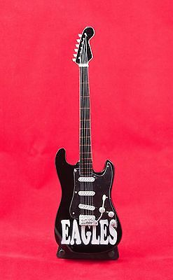$ CDN21.43 • Buy Miniature Guitar EAGLES Guitar On Stand.  Includes Case