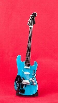 $ CDN21.43 • Buy Miniature Guitar STATUS QUO Guitar On Stand.  Includes Case
