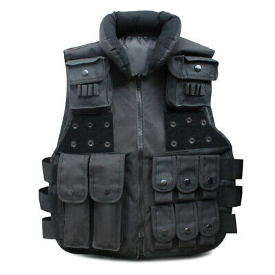 $20.86 • Buy Tactical Vest Military SWAT Police Airsoft Hunting Combat Assault