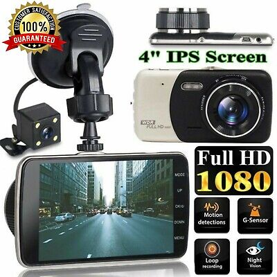 AU59.95 • Buy 2 Channel Dash Cam 1080P 4  HD Car Dual Camera Front And Rear Vehicle Recorder
