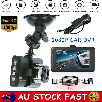 AU39.95 • Buy 2 Channel Dash Camera Dual Lens Front And Rear 1080P Dash Cam 2 Pack Dual Camera
