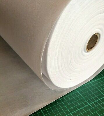 £4.90 • Buy Iron On Adhesive Heavy Interfacing Stabilizer Non-Woven -75 Cm Width X1 Metre