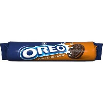 Oreo Peanut Butter Chocolate Cookies Biscuits 154G • 2.95£