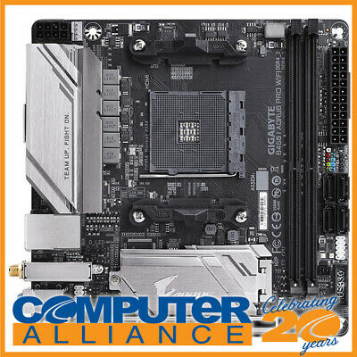 AU199 • Buy Gigabyte AM4 Mini ITX B450 I AORUS PRO WIFI DDR4 Motherboard