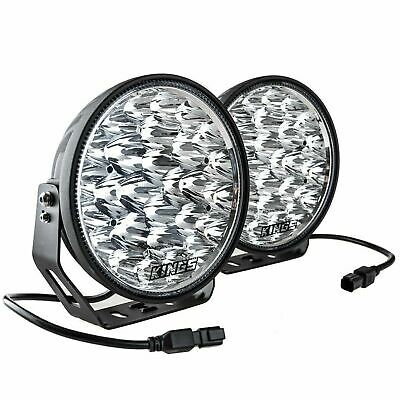 AU109 • Buy Kings Osram Xtreme 9  Offroad LED Driving Spot Lights 1Lux 1,384m 19,796 Lumens