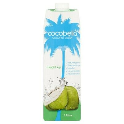 View Details Cocobella Zero Fat 5 Key Electrolytes Straight Up Coconut Water Drink 1L • 3.75AU