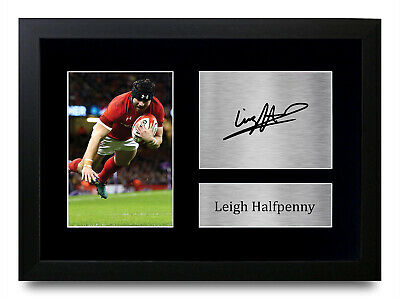 £8.99 • Buy Leigh Halfpenny Signed Printed Autograph A4 Photo Wall Art Gift For A Rugby Fan