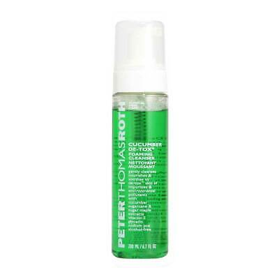 Peter Thomas Roth Cucumber De-Tox Foaming Cleanser 200ml • 24.95£