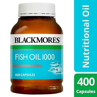 View Details Blackmores Healthy Nutritional Omega-3 Source Fish Oil 400 Capsules 1000g • 15.00AU