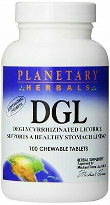 Planetary Herbals DGL 100 Tablet  Pack Of 5 • 30.93£