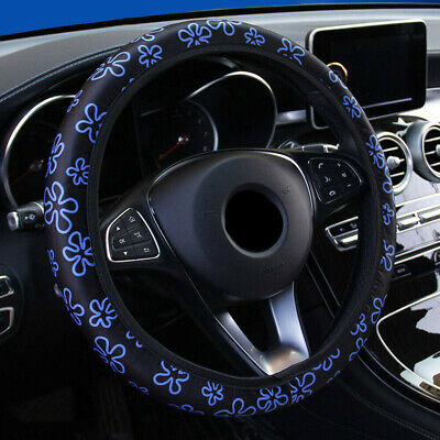 $2.99 • Buy 38cm/15  Universal Steering Wheel Cover Car Accessories Interior For Girl Women