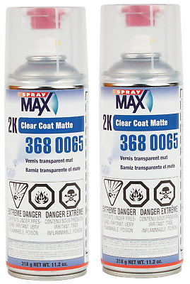 $ CDN59.99 • Buy 2 Cans Of Usc 2k Glamour Clear Matte Clearcoat Spraymax Aerosol (usc3680065)