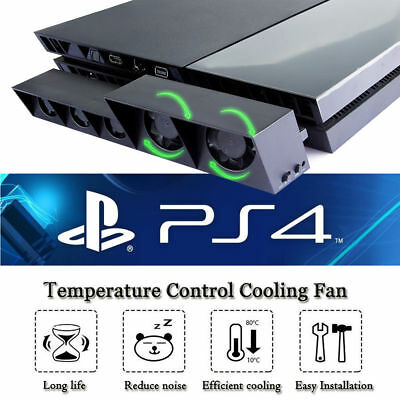 AU18.89 • Buy Cooling 5 Fan Cooler For Playstation4 PS4 USB External Turbo Temperature Control