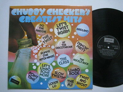 CHUBBY CHECKER Vinyl LP -CHUBBY CHECKER'S GREATEST HITS (Let's Twist Again)  • 6.99£