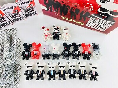 $349.99 • Buy TOY2R QEE Official RESERVOIR DOGS SERIES COMPLETE SET OF 18 Quentin Tarantino