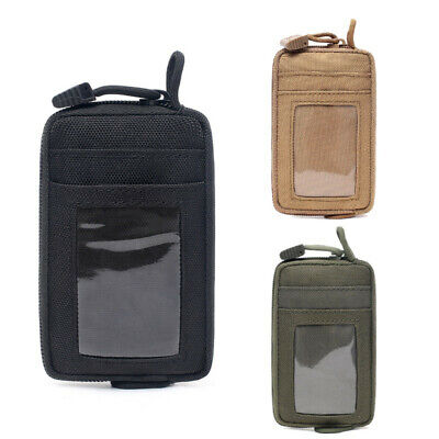 $7.99 • Buy Tactical EDC Pouch Bag Waterproof Key Change Purse Wallet Travel Kit Coin Purse