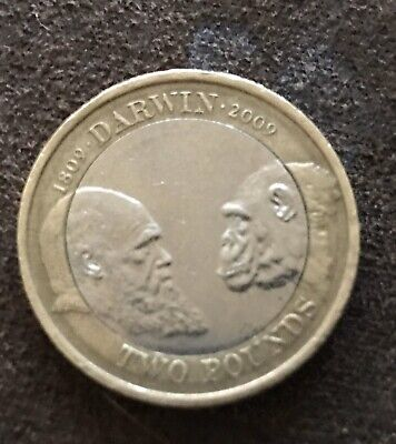 £20 • Buy VERY RARE Charles Darwin 2009 £2 Two Pound Coin