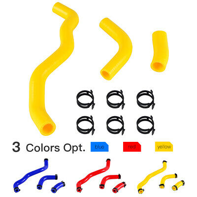 $26.99 • Buy Silicone Radiator Pipe Hose With 6 Clamps Kit For Suzuki DRZ400/E/S/SM 2000-2019