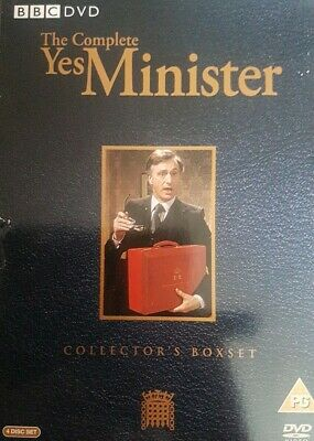 The Complete Yes Minister (4 Disc) Dvd Boxset  • 7£