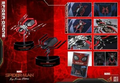 $ CDN148.26 • Buy 1/1 Hot Toys SPIDER-Drone LMS011 Spiderman Far From Home Mini Tracker Figure Toy