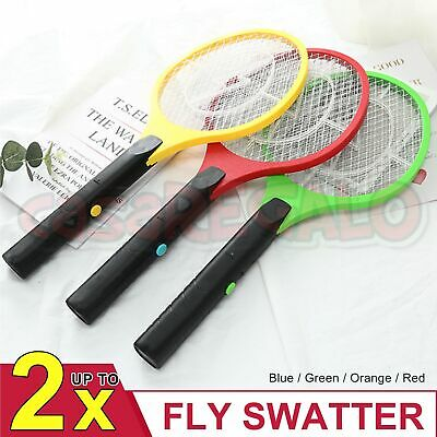 AU9.65 • Buy Electric Bug Zapper Tennis Racket Mosquito Fly Swatter Insect Killer Handhel AU