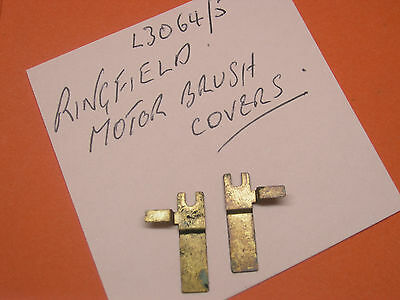00 Hornby Spares L3064/5 Ringfield Motor Brush Covers (pair) • 1.95£