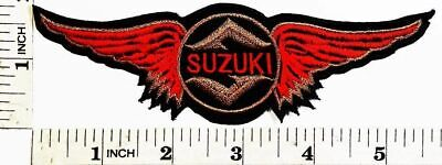 $7.25 • Buy SUZUKI Motorcycle Motocross Motogp 5.5 X1.5  Iron-on Or Sew-on Embroidered Patch